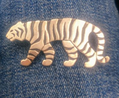 James Avery Tiger Pin Retired