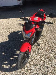 2015 Honda CB 300F