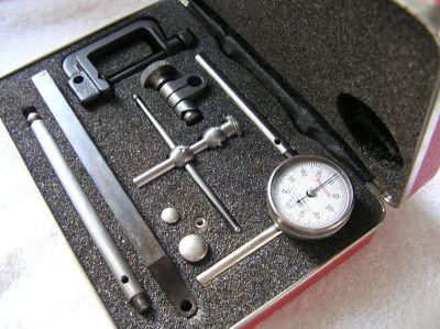 NEW Starrett ( micrometer ) dial indicator set
