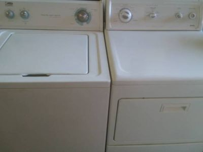 WHIRLPOOL KENMORE WASHER DRYER SET