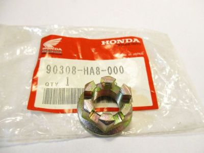 Sell HONDA TRX250 FOURTRAX STEERING SHAFT CASTLE NUT TRX 250 90308-HA8-000 kc motorcycle in Madison, Alabama, United States, for US $12.95