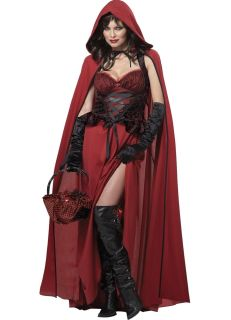 Little red riding hood adult women s costume