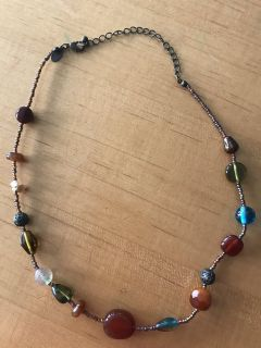 Lia Sophia bead 16 -18 necklace