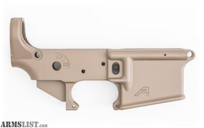 For Sale: Aero Precision Stripped Lower STS, FDE