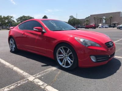 2011 Hyundai Genesis Coupe 3.8L Grand Touring (Red)