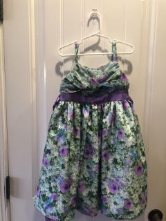 Girl s Dress. New without tags. Bonnie Jean Brand. Size 5T.