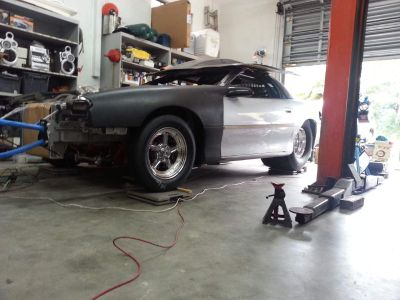 2002 Backhalf Camaro 4link, BBC, PG, Project 80% complete