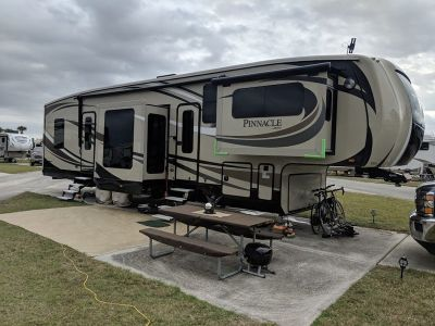 2016 Jayco Pinnacle 38FLSA Front Living Room