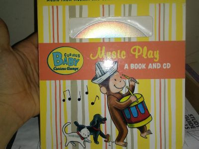Baby book and cd