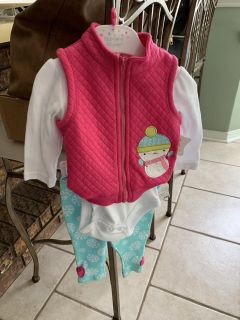 NWT 6 month winter outfit