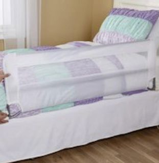 Twin Bed Mesh Protective Rails