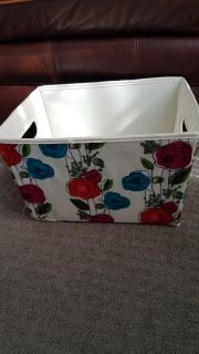Floral Storage Utility Bins 2 available $3 ea