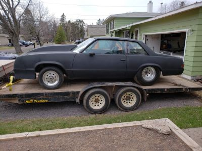 1978 prostreet Malibu rolling chassis
