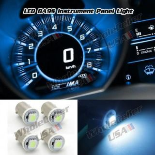 Find 4pcs Ice Blue Ba9s 1895 LED Light Bulb for Instrument Dashboard Speedo Indicator motorcycle in Milpitas, California, United States