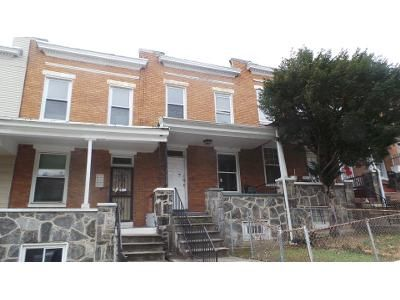 3 Bed 2 Bath Foreclosure Property in Baltimore, MD 21218 - Bartlett Ave