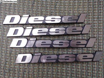 Diesel Emblems