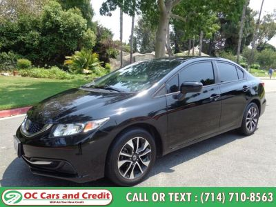 2014 Honda Civic LX (Black)