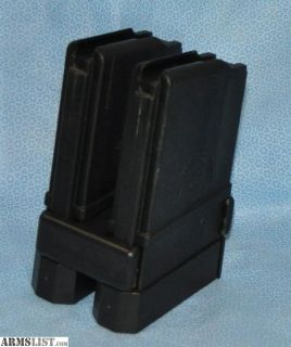 For Sale: 2-Master Mold 20rd AR Magazines with TWIN MAG adapter