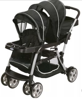 Graco Ready2Grow LX Double Stroller. Great Shape. Almost New. $45. Pick Up Only.