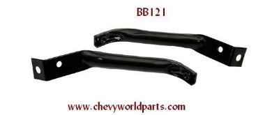 Sell 1970-73 CAMARO FRONT BUMPER BRACKET BRACES, PAIR motorcycle in Bryant, Alabama, US, for US $49.95