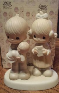 """1980 Precious Moments """"Rejoicing With You"""" Figurine"""