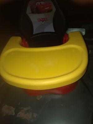 Cars high chair