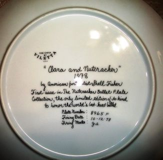 Collectors Plate: