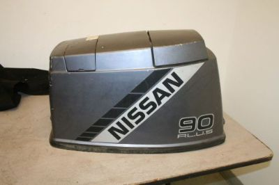 Find GOOD USED 90 HP NISSAN TOHATSU OUTBOARD COWLING HOOD motorcycle in Scottsville, Kentucky, United States, for US $125.00