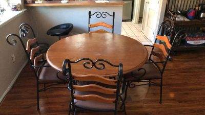 Table w/ four chairs