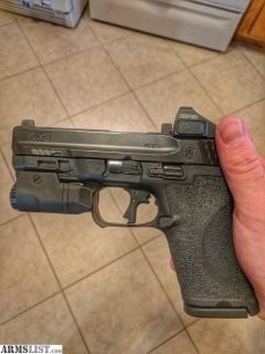 For Sale/Trade: Custom LOADED M&p 2.0 compact 9mm