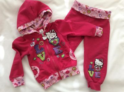 Hello Kitty Outfit 2T