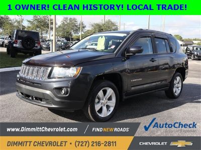 2014 Jeep Compass Latitude (Rugged Brown Pearlcoat)