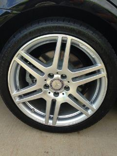 "Sell MERCEDES BENZ 18"" AMG WHEELS E550 E350 18x8.5 18x9 STAGGERED motorcycle in Long Beach, Mississippi, US, for US $0.99"