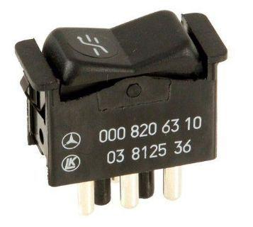 Find New Genuine Mercedes w123 w126 Sunroof moonroof Switch GENUINE W123 W126 4 Pin motorcycle in Lake Mary, Florida, US, for US $59.89