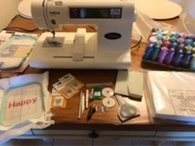 Brother PE-180D Disney Embroidery machine