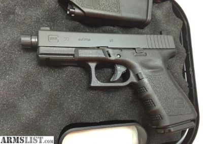For Sale: GLOCK 23 Gen3 G23 40 S&W Threaded TB PI2350203TB
