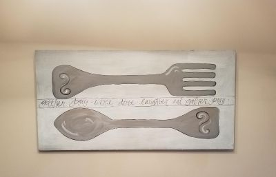 4ft x 2ft Sign for the Kitchen