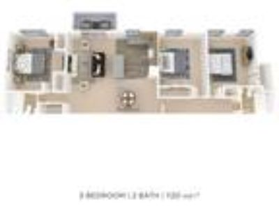 Hill Brook Place Apartment Homes - Three BR