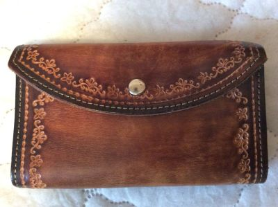 Leather Coupon Organizer
