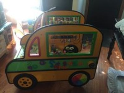 School bus activity center