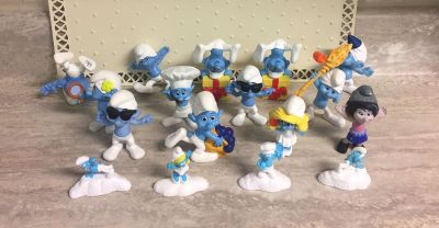 Smurfs Toy Figures. CP.