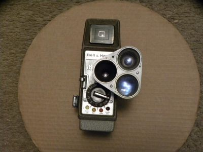 Bell and Howell 333 movie camera
