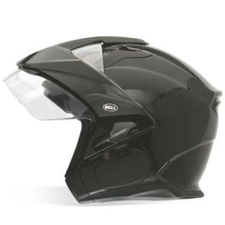 Purchase Bell Mag-9 Sena Open Face Motorcycle Helmet Gloss Black Size Medium motorcycle in South Houston, Texas, US, for US $179.95