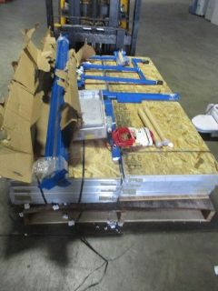 Inline 2-Color Screen Printing Number Press RTR# 9043751-01