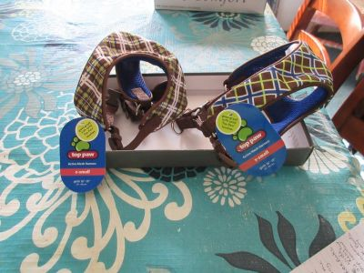 nwt 2 top paw dog harnesses