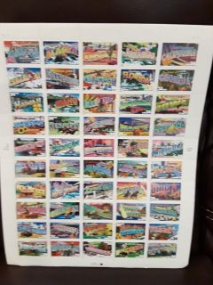 Full sheet US States PS stamps (50-34cent)
