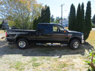 2008 F250 XLT Super Duty Crew Cab Power Stroke V8 Turbo Diesel