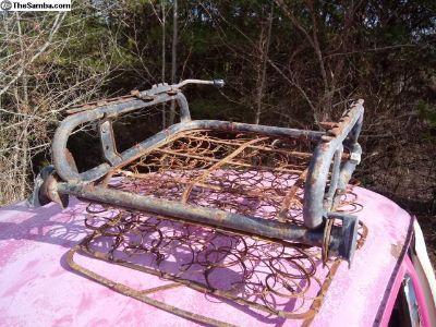 1969 VW Beetle Front Seat Frames
