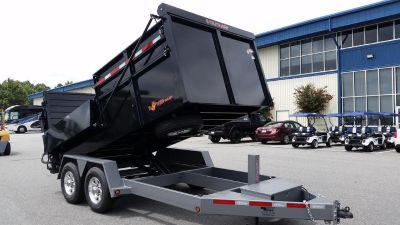B-WISE DU14-15 ULTIMATE DUMP TRAILER 15K GVWR