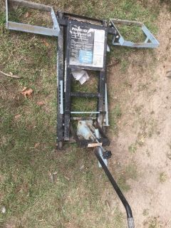 lawn mower lift hydraulic
